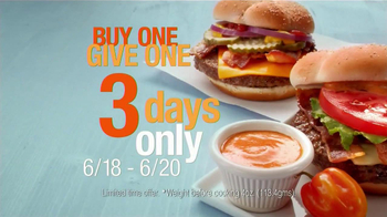 McDonald's Quarter Pounder TV Spot, 'Buy One, Give One' - Thumbnail 6