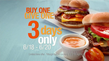 McDonald's Quarter Pounder TV Spot, 'Buy One, Give One' - Thumbnail 7