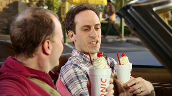Sonic Drive-In Half Price Shakes TV Spot, 'Day Early' - Thumbnail 2