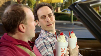 Sonic Drive-In Half Price Shakes TV Spot, 'Day Early' - Thumbnail 3