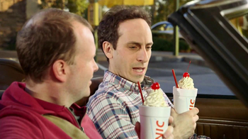 Sonic Drive-In Half Price Shakes TV Spot, 'Day Early' - Thumbnail 7