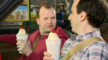 Sonic Drive-In Half Price Shakes TV Spot, 'Day Early' - Thumbnail 8