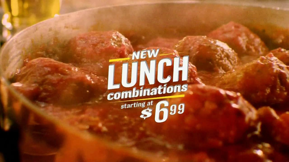 Olive Garden Lunch Combinations TV Commercial, 'Meatball Sandwich'