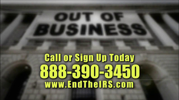 Americans For Fair Taxation TV Spot, 'End the IRS' - Thumbnail 7