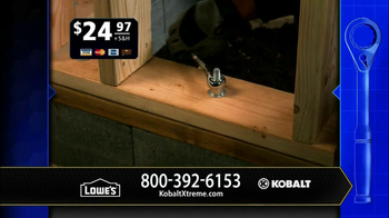 Kobalt Xtreme Access TV Spot, 'Sockets' - Thumbnail 6