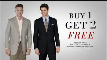 JoS. A. Bank TV Spot, 'Buy 1, Get 2 Free: Suits & Sportscoats' - Thumbnail 2