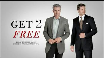 JoS. A. Bank TV Spot, 'Buy 1, Get 2 Free: Suits & Sportscoats' - Thumbnail 6