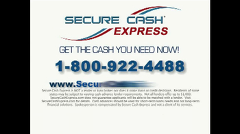 Secure Cash Express TV Spot - Thumbnail 10