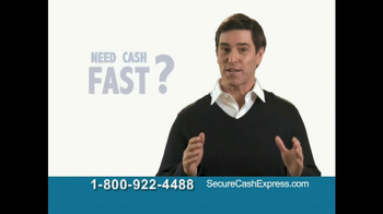 Secure Cash Express TV Spot - Thumbnail 2