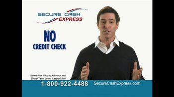 Secure Cash Express TV Spot - Thumbnail 4