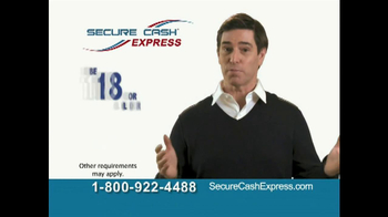 Secure Cash Express TV Spot - Thumbnail 6