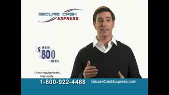 Secure Cash Express TV Spot - Thumbnail 7