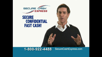 Secure Cash Express TV Spot - Thumbnail 9