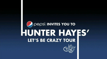 Pepsi TV Spot, 'Let's Be Crazy Tour' Featuring Hunter Hayes - Thumbnail 1