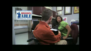 Paralyzed Veterans of America TV Spot, 'Mission-Able' - Thumbnail 6