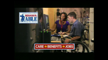 Paralyzed Veterans of America TV Spot, 'Mission-Able' - Thumbnail 7