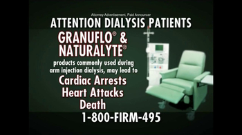The Edward A. Williamson Law Firm TV Spot, 'Dialysis'