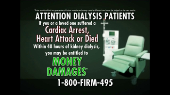 The Edward A. Williamson Law Firm TV Spot, 'Dialysis' - Thumbnail 3