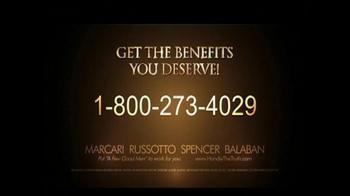 Marcari, Russotto, Spencer & Balaban TV Spot, 'Disabled Veteran' - Thumbnail 8