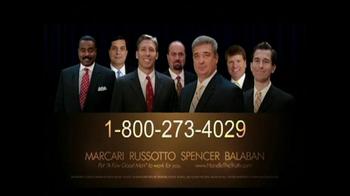 Marcari, Russotto, Spencer & Balaban TV Spot, 'Disabled Veteran' - Thumbnail 6