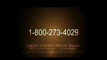 Marcari, Russotto, Spencer & Balaban TV Spot, 'Disabled Veteran' - Thumbnail 7