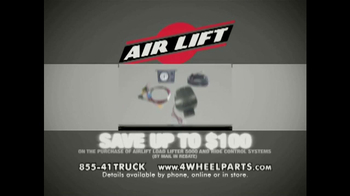 4 Wheel Parts TV Spot, 'Airlift' - Thumbnail 4