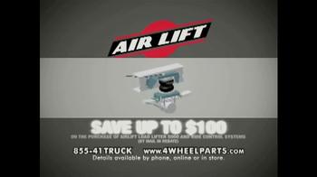 4 Wheel Parts TV Spot, 'Airlift' - Thumbnail 5
