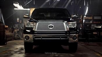 Toyota Tundra TV Spot 'Build Like You Would'  - Thumbnail 1