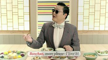 Korea Tourism Organization TV Spot, 'Wiki Korea: Ban-Chan' Featuring PSY - 62 commercial airings