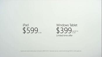 Microsoft Windows Tablet TV Spot - Thumbnail 10