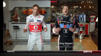 Mobil 1 TV Spot, Featuring Jenson Button, Tony Stewart