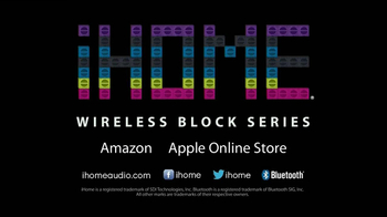 iHome Wireless Block Series TV Spot - Thumbnail 10