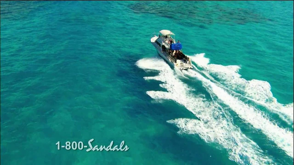 2190851cb53aa Sandals Resorts TV Commercial