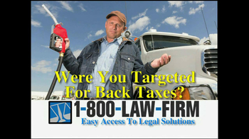 1-800-LAW-FIRM TV Spot, \'Truckers\'