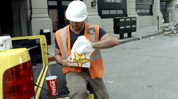 Carl's Jr. Super Bacon Cheeseburger TV Spot, 'Man of Steel' - Thumbnail 2
