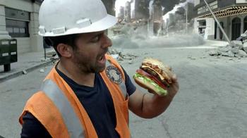 Carl's Jr. Super Bacon Cheeseburger TV Spot, 'Man of Steel' - Thumbnail 6