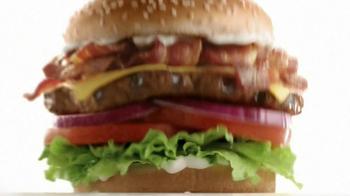 Carl's Jr. Super Bacon Cheeseburger TV Spot, 'Man of Steel' - Thumbnail 8
