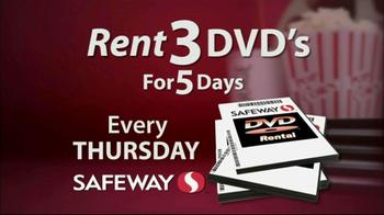 Safeway DVD Rentals TV Spot - Thumbnail 3