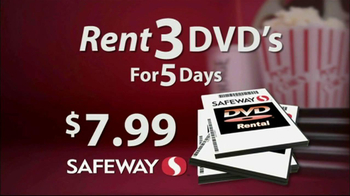 Safeway DVD Rentals TV Spot - Thumbnail 4