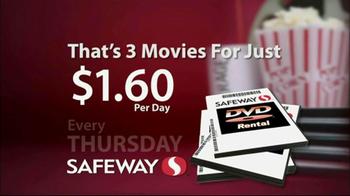 Safeway DVD Rentals TV Spot - Thumbnail 6