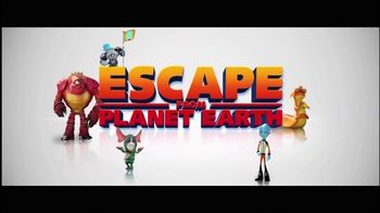 Escape From Planet Earth Blu-ray and DVD TV Spot