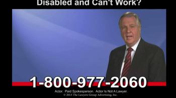 Disability LawLine TV Spot - Thumbnail 1