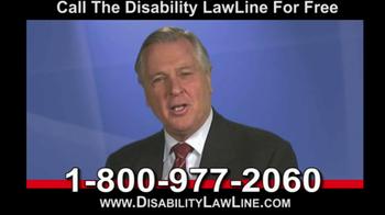Disability LawLine TV Spot - Thumbnail 8