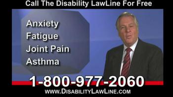 Disability LawLine TV Spot - Thumbnail 4