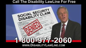 Disability LawLine TV Spot - Thumbnail 5