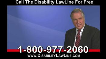 Disability LawLine TV Spot - Thumbnail 6