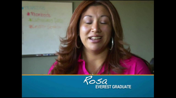 Everest College TV Spot, 'Rosa' - Thumbnail 1