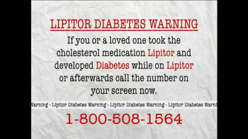 AkinMears TV Spot, 'Lipitor Diabetes Warning'