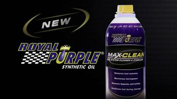 Royal Purple Max-Clean TV Spot  - Thumbnail 1