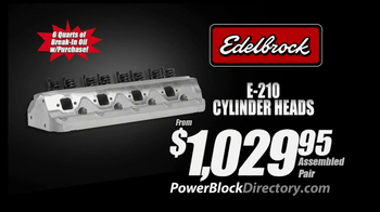 PowerBlock Directory TV Spot, 'Lowest Prices: Cylinder Heads' - Thumbnail 2